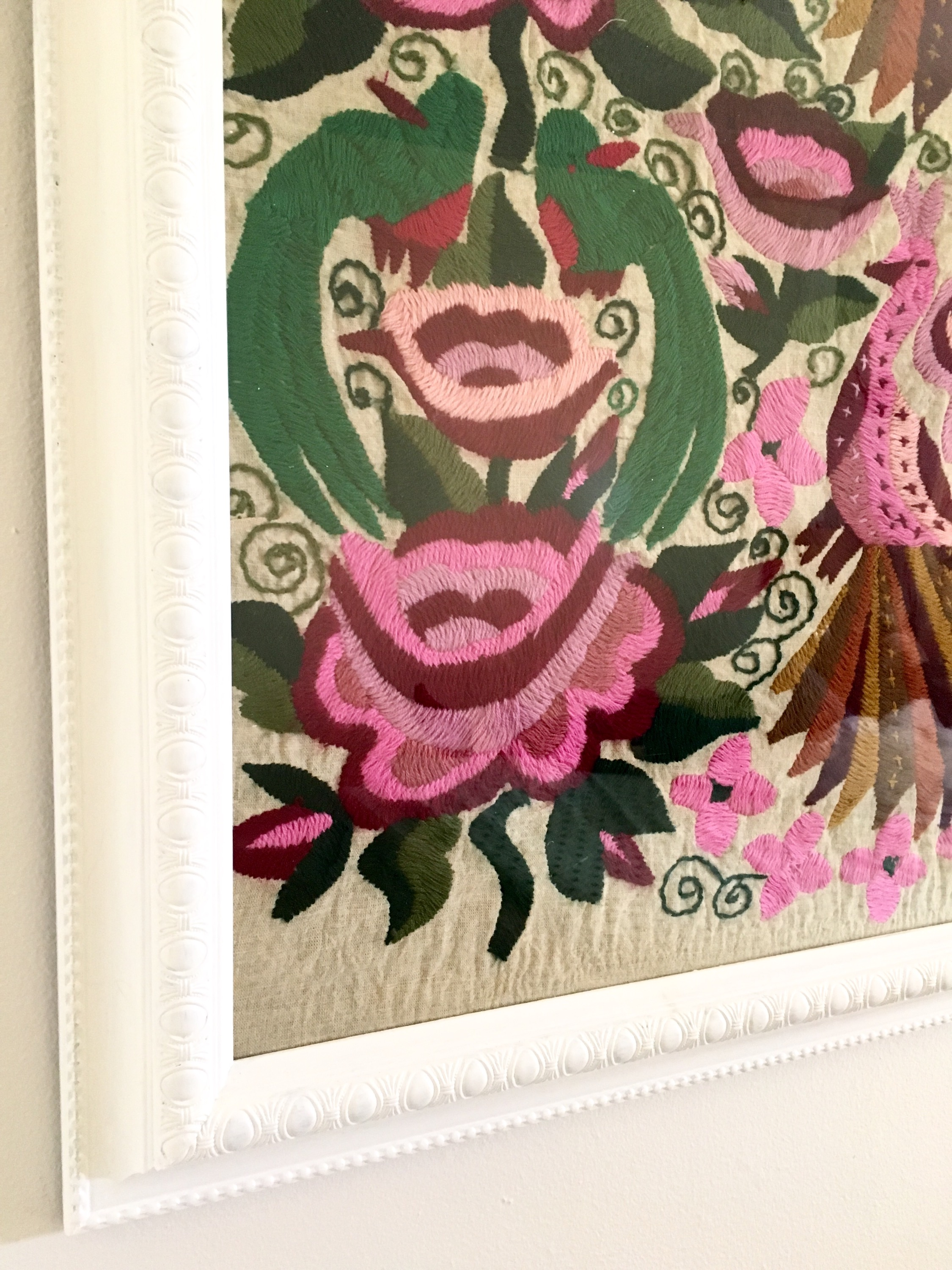 DIY: Framed Needle Point